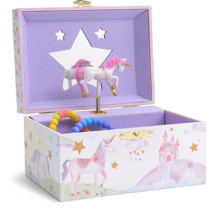 Caja musical unicornio