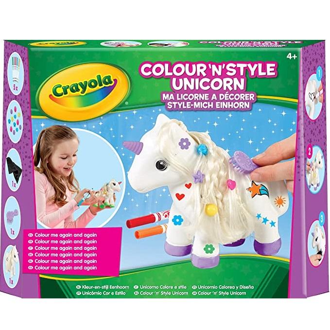 Crayola unicornio peinar