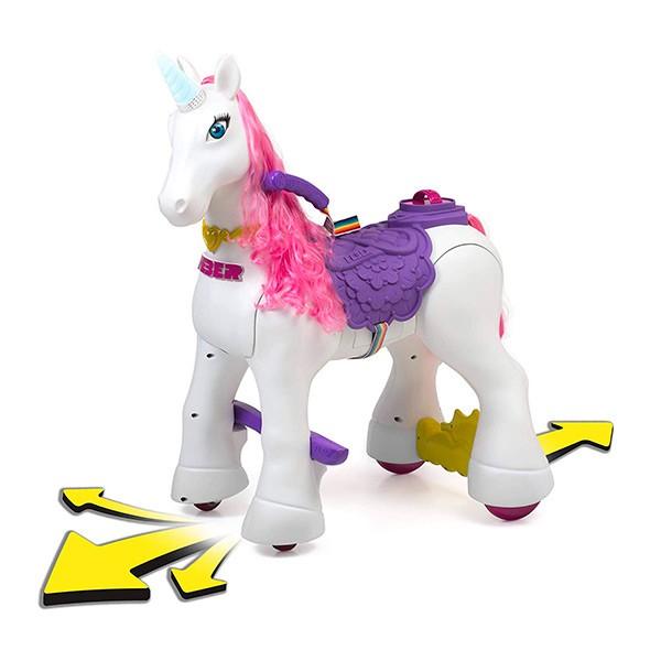 Unicornio feber ruedas